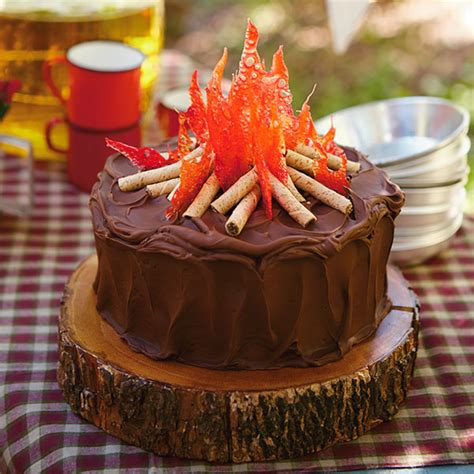 campfire cake recipe hallmark ideas inspiration