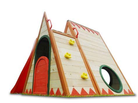 Rutsche Holz by Kinderspielhaus Stelzenhaus Aus Holz Mit Rutsche