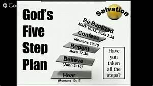 God U0026 39 S Five Step Plan For Salvation