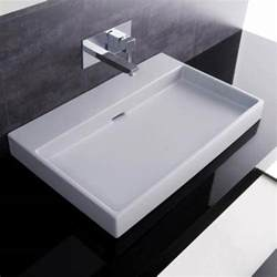 designer bathroom sink 70 white wall mount or countertop bathroom sink without faucet ws bath collecti