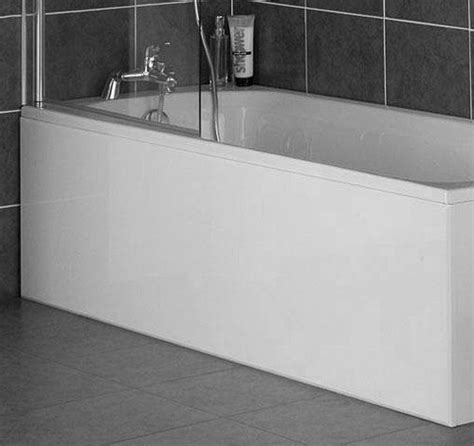 White Bath by Luxury High Gloss White 1 Bath Panels