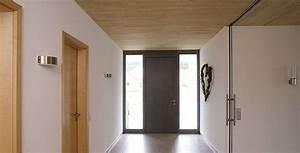 Moderne Holzdecken Beispiele : klimaholzhaus staiger holzbau ~ Markanthonyermac.com Haus und Dekorationen