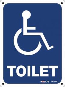 How To Clean Automotive Carpet by Disabled Toilet Wheelchair Sign
