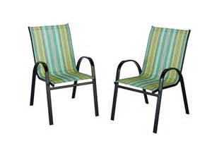 the home depot outdoor sling stack chair in stripe the home depot canada