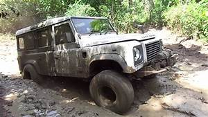 Off Road Extreme with Land Rover Defender 110 - YouTube