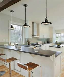 Glass pendant lights over kitchen island : How to hang pendant lighting in the kitchen home