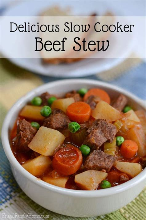 best simple cooker recipes simple and delicious slow cooker beef stew