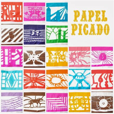 Papel Picado Template For by 1000 Images About Papel Picado On Mexican
