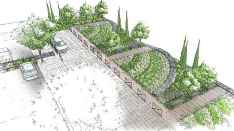 bureau architecture amenagement d un parking paysager pour la salle