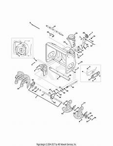 Troy Bilt 31am56r3711 Storm 2690xp  2015  Parts Diagram For Auger  U0026 Housing