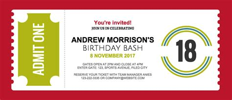 contoh invitation card office party   print