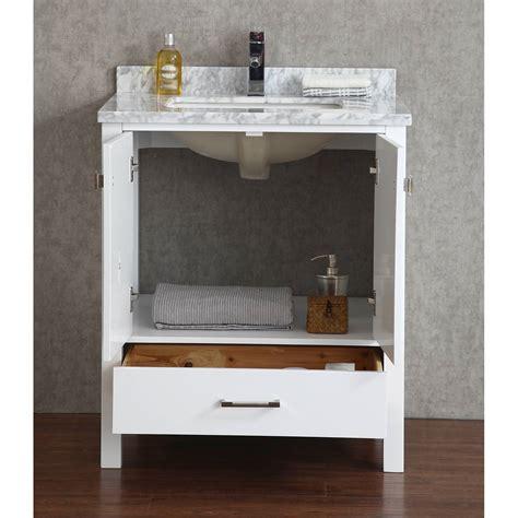 Buy Vincent 30 Inch Solid Wood Double Bathroom Vanity In