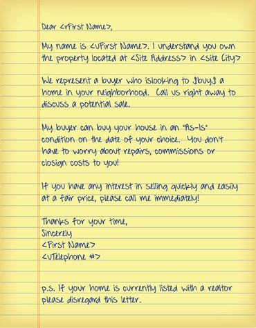 real estate offer cover letter template real estate