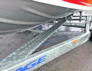 Boat Trailer Walkway by Fishing Monthly Magazines Savage Piranha Small Boat