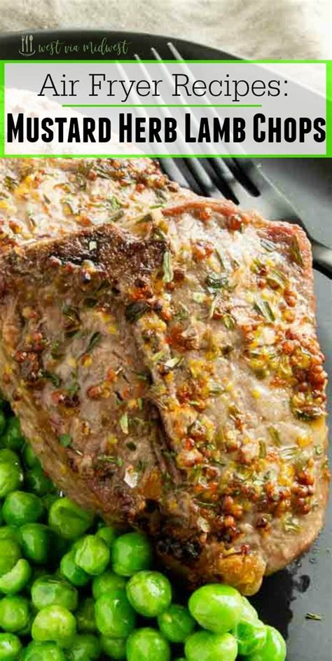 lamb fryer air chops recipes chop westviamidwest cooking tender fastest juicy easiest way