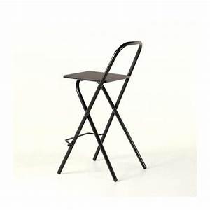 Tabouret Bar Pliant : tabouret snack pliant simone 4 pieds tables chaises ~ Melissatoandfro.com Idées de Décoration