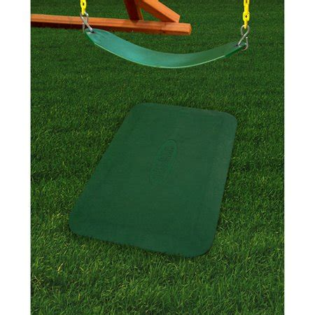 rubber play mats gorilla playsets play protector rubber mat green