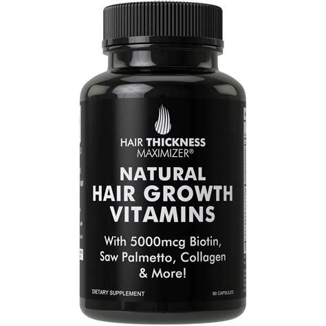Amazon.com: Biotin Pills for Men + Women Hair Growth