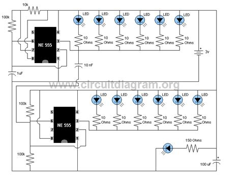 Led Flasher Circuitdiagram