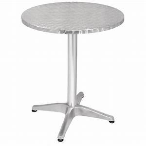 Table Ronde Ou Rectangulaire : table de bistro ronde carr e ou rectangulaire ~ Melissatoandfro.com Idées de Décoration