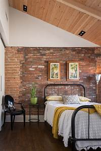 69, Cool, Interiors, With, Exposed, Brick, Walls