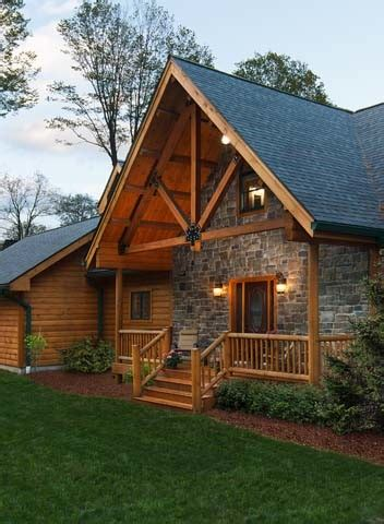 differences   log home  timber frame home