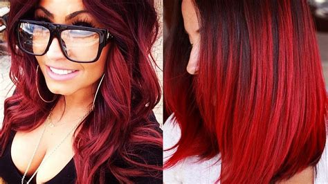 red hairstyles  red hair  red hair color
