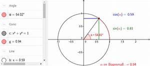 Kreis Winkel Berechnen : sinus kosinus gradma und bogenma am einheitskreis ~ Themetempest.com Abrechnung