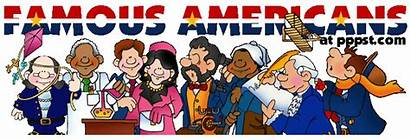 Famous Clipart Biography Americans American Clip Historical