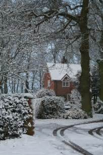 Winter English Countryside Cottages