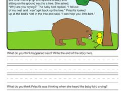 free printable picture composition worksheets for grade 2 2nd grade comprehension worksheets free printables