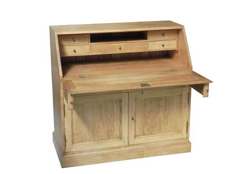 coffre cuisine secretaire bois massif