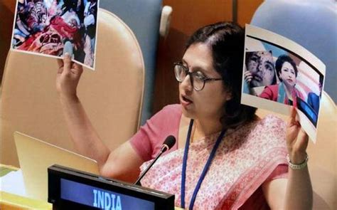 India slams Pakistan for 'weaponising' women's rights ...