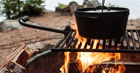 cooking laurent open fire october campfire week camping jardins fermier recettes vieux hollandais cuisine four forests national restrictions ease beginning