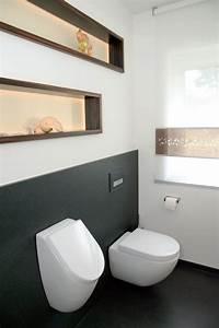Gäste Wc Design : das g ste wc mit wc und urinal wird beiden geschlechtern ~ Michelbontemps.com Haus und Dekorationen