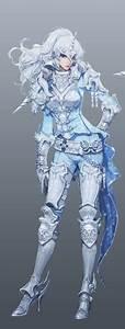 (Aion) Unicorn Warrior | Steel armour | Female fighter ...