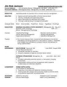 Best Resume For Accounting Internship by Accounting Internship Resume Sle Accounting Intern Resume Sles Staff Accountant Resume