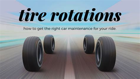 tire rotations explained toyota  north charlotte