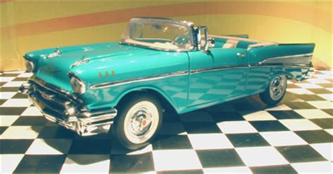 phillymint franklin mint  chevy convertible tropical