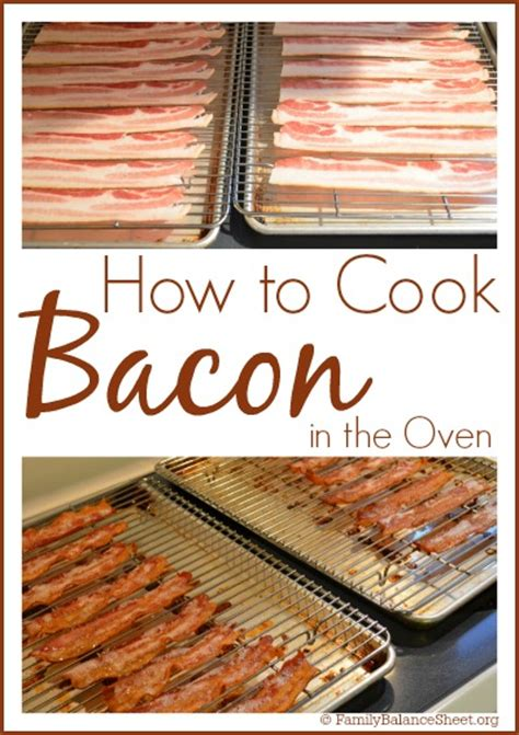 how do you cook bacon in the oven how to cook bacon in the oven family balance sheet