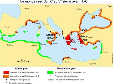 Carte Vierge Du Monde Des Cités Grecques by Monde Grec Civilisation Antique Grecque