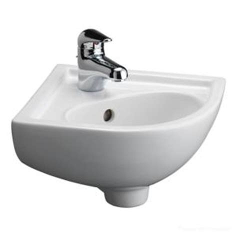 home depot corner sink barclay products petite corner wall hung bathroom sink in