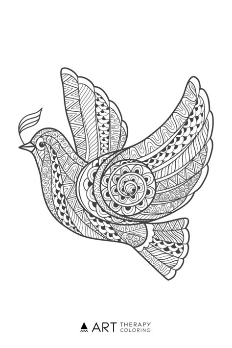 free bird coloring page for adults coloring birds and