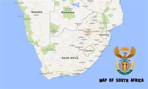 map  south africa  south africa