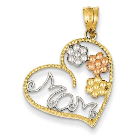 14k Tricolor Gold Mom & Flowers Pendant 18mmx20mm. Diamond Ring With Diamonds All Around The Band. Shaped Necklace. Mercier Watches. Engagement Jewellery. Black Gold Pendant. Square Diamond Ring With Diamond Band. Ruby Diamond Bracelet. Antique Silver Earrings