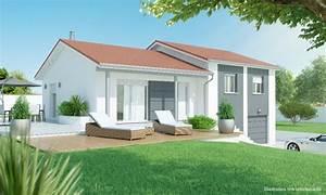 maison demi sous sol 3 a 4 chambres construction maison With plan maison demi niveau 14 vente de plan de maison avec terrain en pente