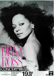 Diana Ross German Concert Frankfurt Poster