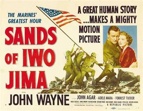 Sands Of Iwo Jima Movie Posters From Movie Poster Shop