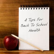 Four Tips For Back To School Health  Foodscience Of Vermont Fitness Blog