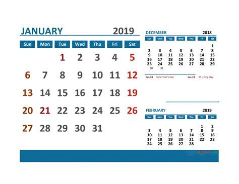 printable calendar   holidays  month   page